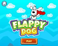 Game art: Flappy Dog (iOS)