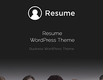 Resume WordPress Theme - Elements
