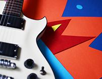 E-commerce website for musician's stuff
