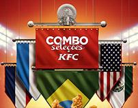 Combo Seleções KFC