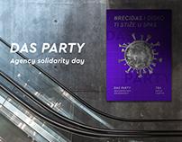 Das Party - Poster proposal for HURA!