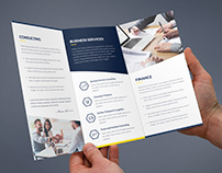 Brochure – Finance and Business Tri-Fold Template