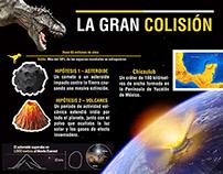 infographics LA GRAN COLISIÓN