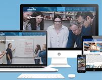 ANALYZE Inc Website Design