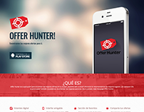 Offer Hunter - Landing Page