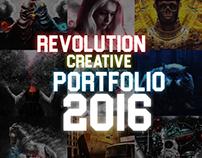 ♣ Revolution Creative Portfolio 2016 ♣