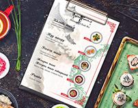 Arisu Sarang - menu