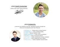 Tomáš Zahradník - personal web
