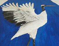Colaboración ilustracion textil MMPUHINGER &LA CANALLA