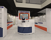 Aurora Boulevard Lightforce Showroom - Ground Floor