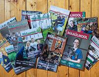 EMÜ ajakirja küljendus 2017-2020