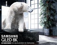 Samsung QLED 8k - Advertising Photo Manipulation