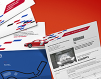 Traffic police fines design branded by Sochi Autodrom