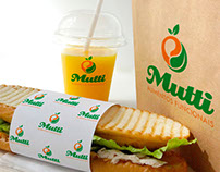 Logo and Corporate Identity -Mutti Alimentos Funcionais