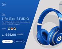 Headphone UI