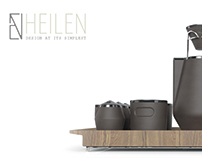 Heilen Pour Over Coffee Set