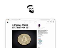 CryptoComrade.org — Crypto Blog Design & Dev w/ Netlify