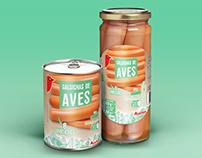 Salsichas de Aves - Auchan