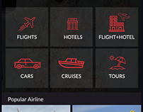 Flight, Hotel and Car booking Application
