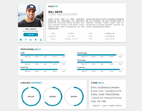 Redax - Simple OnePage CV Resume