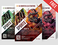 Free Sports Flyer Template