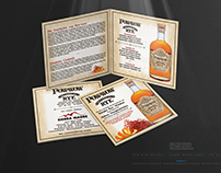 POW-WOW • Straight Rye Whiskey • Booklet Design