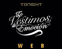 Diseño Web- TONIGHT