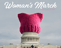 Woman's March Poster