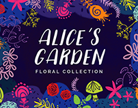 Alice's Garden Floral Collection