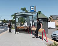 Suchy Las Kosciol _ dedicated bus shelter