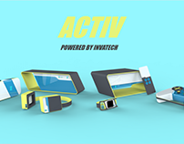 ACTIV: Powered by Invatech Bluetooth Speaker
