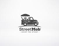 StreetMob • Logo & App design (UI)