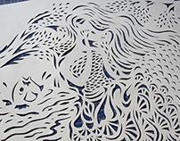 Calado / Paper cut