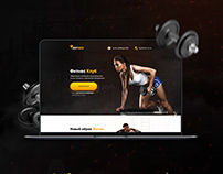 Дизайн Landing Page для фитнес клуба «BodyPowers»