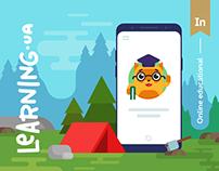 LEARNING.ua | Online educational | UI/UX | Web/App