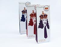 King Louis Necktie Packaging
