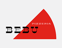 Pizzeria Bebu Graphic Identity