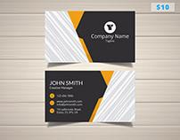 Elegant Developer Business Card