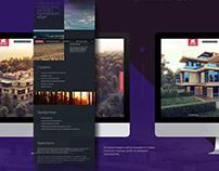 Website and Catalog design for premium class apartments