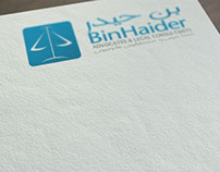 Bin Haider : Logo & Branding