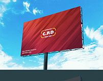 Landscape Outdoor Advertising Billboard Mockup PSD