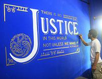Mural for Yunaelish & Associates Law Firm