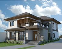 2-Storey Residence (Classic Modern)