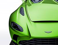 2020 Aston Martin V12 Speedster Chartreuse