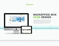 NeoLife BackOffice Web Application UI/UX