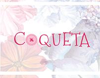 Coqueta Women's Wear Brand identity
