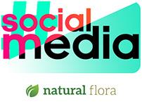 Social Media - Natural Flora