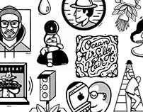 MALDO - Various Illustrations 2017/2018 — Vol. 1