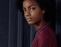 Classy Burgundy /// Editorial - for Oysho