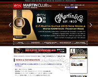 Martin Club Japan Official Website